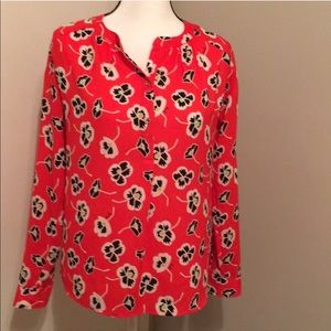{Juicy Couture} Poppy Long Sleeve Blouse